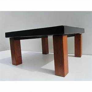Table Bois Et Fer : table basse design bois et fer ~ Premium-room.com Idées de Décoration