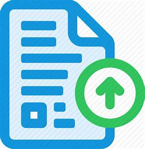 document upload icon icon search engine With documents upload icon