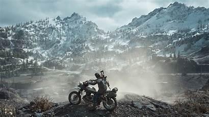 Gone Days 4k Background Biker Wallpapers Desktop