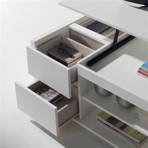 ikea mini cuisine table basse relevable blanche rangements concept