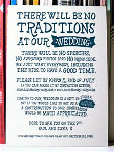 the non traditional wedding invitation With non traditional wedding invitations