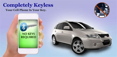 unlock car door with phone completely keyless unlock lock start drive your car with
