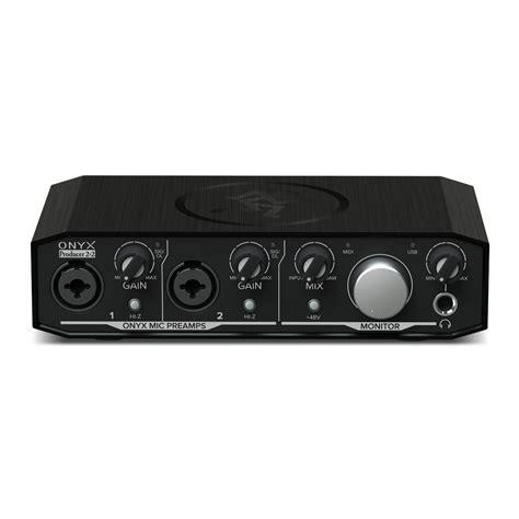 Mackie Onyx Producer 22 USB Audio Interface at Gear4musiccom