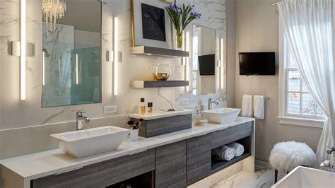 Master Bathroom Designs by Chic Contemporary Master Bath Redesign Glen Ellyn