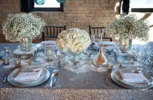 silver wedding decorations white wedding flowers centerpieces silver decor onewed