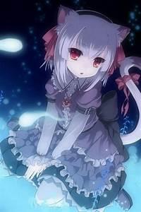 ANIME ART anime. . .neko. . .cat girl. . .cat ears. . .cat ...