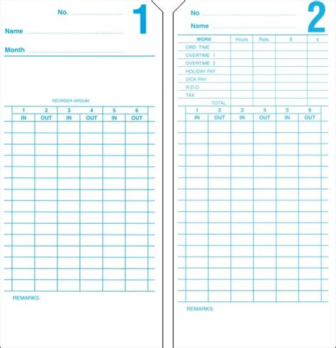 time card template for numbers time clocks australia qr 550m monthly attendance payroll