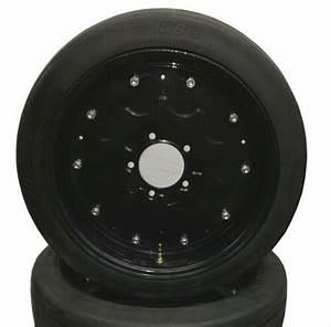 New 25 U0026quot  Tall Batwing Shredder Foam Filled Tire On Rim