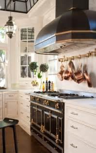 Black White Kitchen with Range Hood