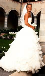 fashioned wedding dresses that style wayne and coleen rooney the fashionbrides