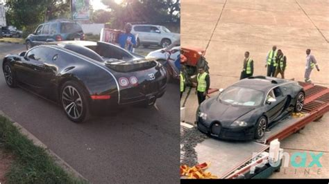 ***he only paid k41, 000 as duty, far much less that he spent on flying the car in. Viral Bugatti Veyron Seized In Zambia Over 'Possible' Money Laundering | RashGh