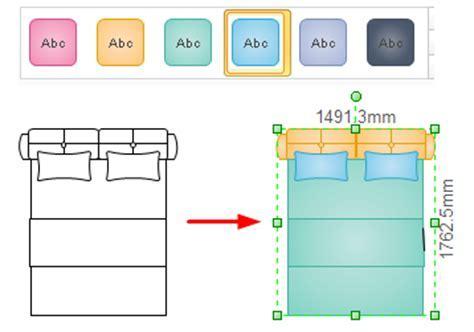 Symbols for Floor Plan   Bedroom