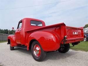 1950 Gmc 100 Shortbed 1  2 Ton Pickup Truck 6 Cyl  Manual 3