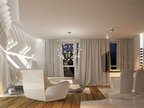 A 60s Inspired Apartment With A Creative Layout And Upbeat Vibe by Le Design Futuriste Appliqu 233 Dans L Appartement Contemporain