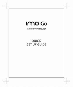 User Manual  U2013 Imo Go