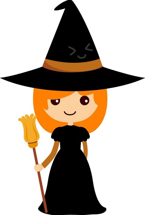 witchcraft clipart cute halloween monster pencil and in