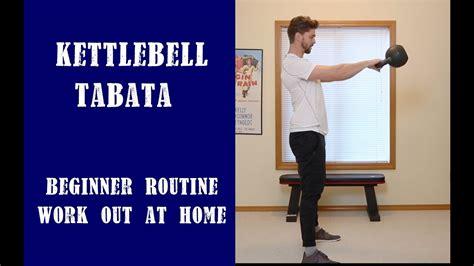 kettlebell tabata hiit beginner workout