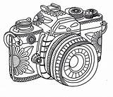 Camera Coloring Tribal Photography Pages Adult Printable Sheets Adults Tumblr Camara Coloringsky Cameras Cartoon Template Designs Print Activity Colouring Star sketch template