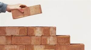 Comment Lessiver Un Mur : construction d un mur en brique la m thode ~ Dailycaller-alerts.com Idées de Décoration