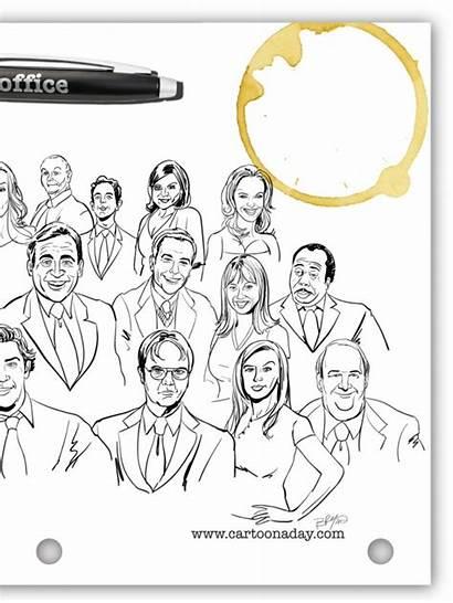 Office Cast Final Season Tv Cartoon Digg