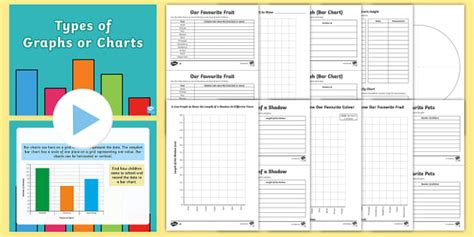 Types Of Graphs  Interpret And Present Data Using Bar Charts, Pictograms And