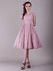 pink vintage lace bridesmaid dressCherry Marry | Cherry Marry