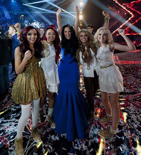 Litte Mix win The X Factor   HELLO!