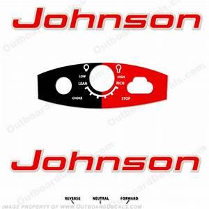Johnson 1963 18hp Decals