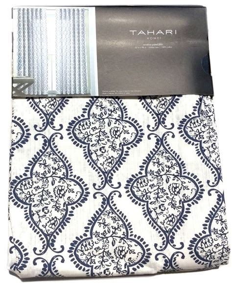 tahari home curtains blue 17 best images about pretty window treatment on