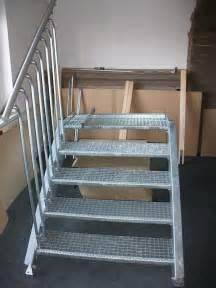 treppen verzinkt außentreppe treppe treppen stahltreppe verzinkt stahl
