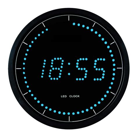 buy electrical led digital wall clock purely wall