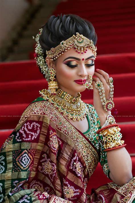 Gujarati Bridal Look Indian Bridal Hairstyles