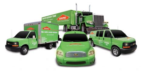 servpro nationwide water fire mold removal