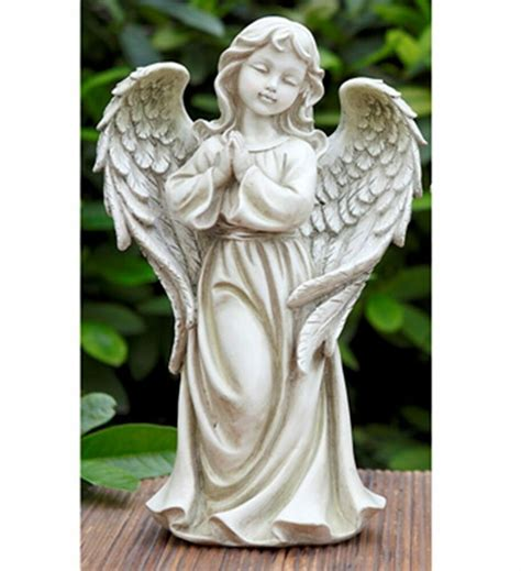 outdoor angel statues praying garden statue outdoor decor ebay