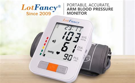 Amazon.com: Blood Pressure Monitor by LotFancy, Automatic