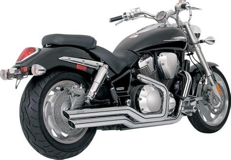 Vance & Hines Chrome Big Shot Motorcycle Exhaust 02-08