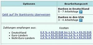 Gebühren Paypal Berechnen : aus meiner sicht deutscher alltag april 2007 ~ Themetempest.com Abrechnung