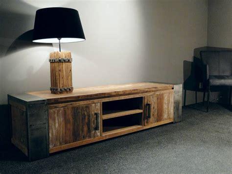 tv meubel hout tv meubel asmund oud hout robuustetafels nl