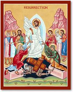 Great Feast Icons: Resurrection Icon Monastery Icons