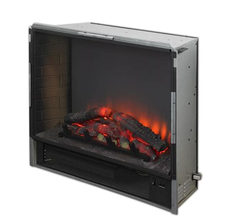 electric fireplace insert 34 quot gallery electric led built in electric fireplace insert