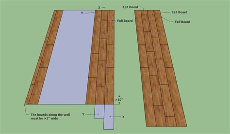 wood flooring layout patterns how to fit laminate flooring howtospecialist how to build step by step diy plans