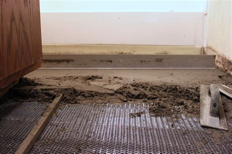 The Importance Of The Tile Underlayment!  Tile Contractor