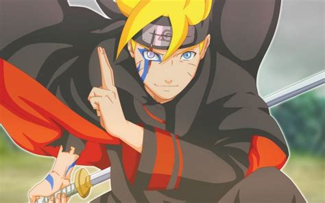 Desktop Wallpaper Blonde, Anime Boy, Boruto Uzumaki, Hd