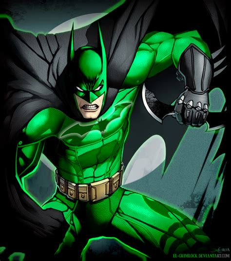 green lantern batman version 2 by xxdan the manxx on deviantart