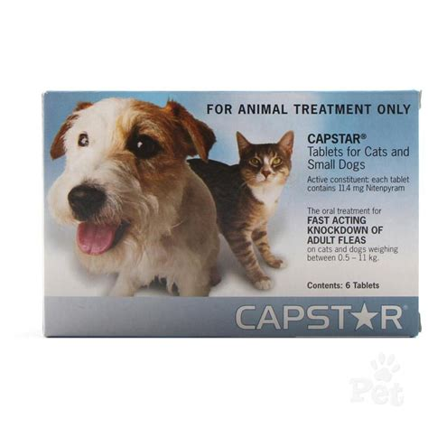 capstar flea treatment cats  small dogs