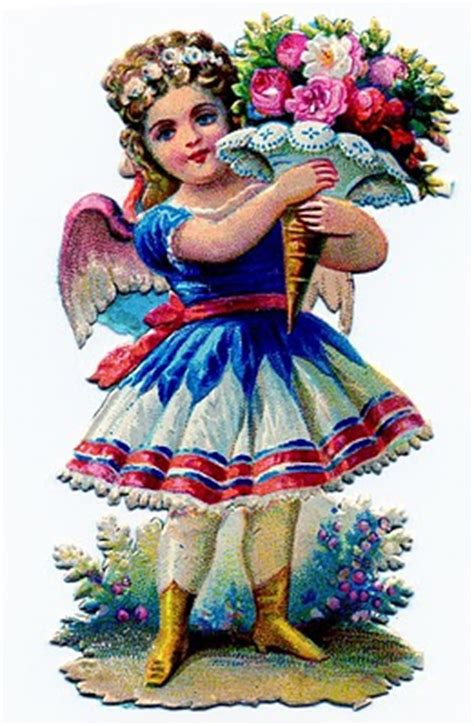 victorian clip art pretty  fairy girl