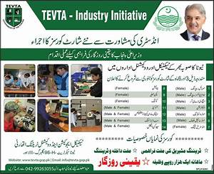 TEVTA Free Training Courses in Punjab 2015 Latest ...