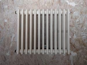Vieux Radiateur En Fonte : branchement diagonal d 39 un vieux radiateur fonte ~ Nature-et-papiers.com Idées de Décoration