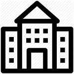 Icon Building Commercial Estate Office Svg Icons