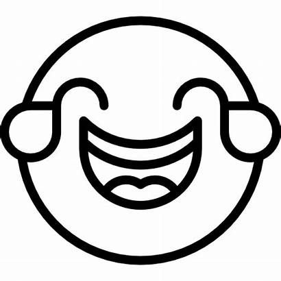 Emoji Svg Laughing Icon Smileys Feelings Emoticons